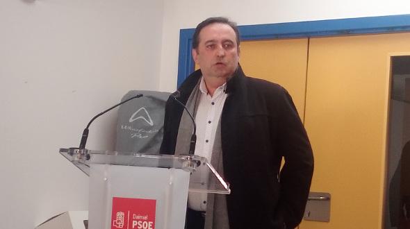 Miguel Rodríguez Megía, candidato del PSOE a la Alcaldía